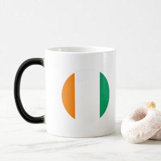 Ivory Coast Flag Magic Mug