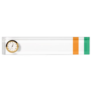 Ivory Coast Flag Name Plate