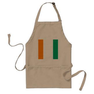 Ivory Coast Flag Standard Apron