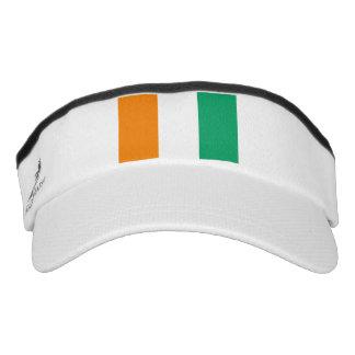 Ivory Coast Flag Visor