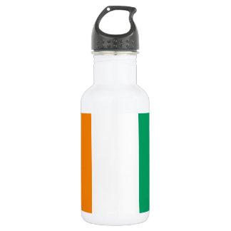 Ivory Coast National World Flag 532 Ml Water Bottle