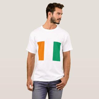 Ivory Coast National World Flag T-Shirt