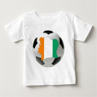 Ivory Coast soccer Baby T-Shirt