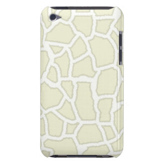 Ivory Giraffe Animal Print iPod Touch Covers