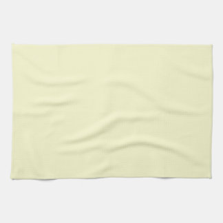 Ivory Off-White Solid Color Background Template Kitchen Towel