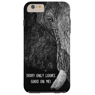 Ivory Only Looks Good On Me! Tough iPhone 6 Plus Case