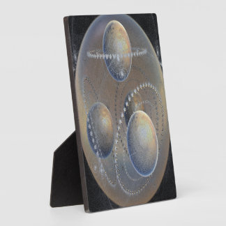 Ivory Planets Plaque