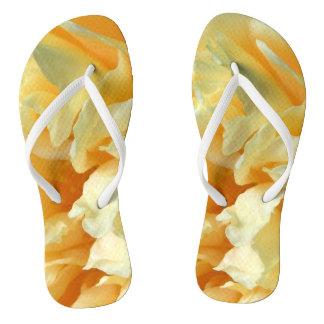 Ivory Rose Flip Flops