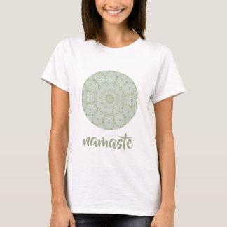 Ivory Rose Mandala Floral T-Shirt
