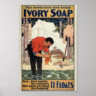 Ivory Soap Vintage Poster