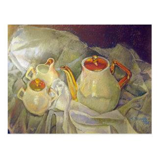 Ivory Tea Postcard