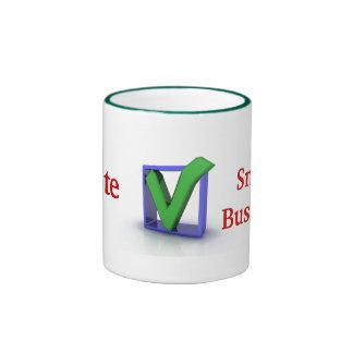 iVote Small Business Ceramic Mug