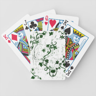Ivy Abstract Bicycle Playing Cards