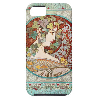 Ivy - Alphonse Mucha iPhone 5 Case