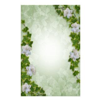 Ivy and Gardenias Stationery