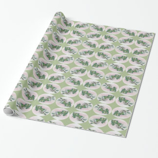 Ivy and Holly Christmas Wrapping Paper