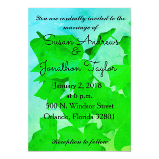 Ivy and Sky Wedding Invitation