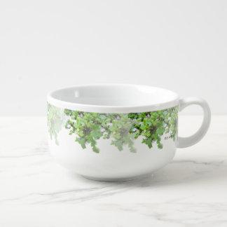 Ivy and Wild Flowers Soup Mug