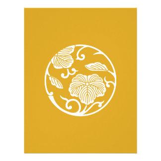 Ivy branch circle letterhead