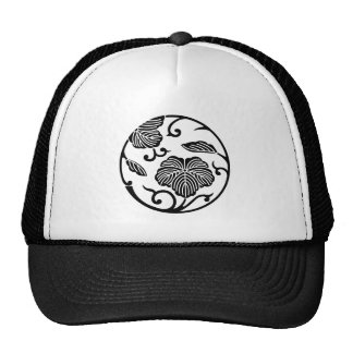 Ivy branch circle trucker hat