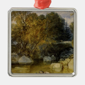 Ivy Bridge, Devonshire by William Turner Metal Ornament