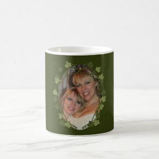 Ivy Circle Photo Frame Classic White Coffee Mug