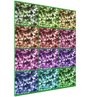 Ivy Colour Progression 1 Wrapped Canvas - Large