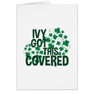 Ivy Covered Card