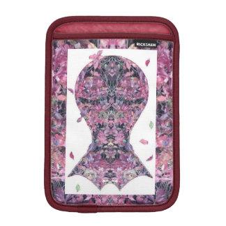 Ivy Creeper Fractal Head Art iPad Mini Sleeves