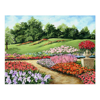 Ivy Garden Postcard