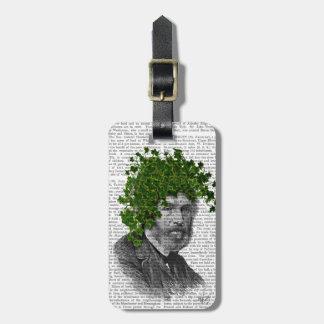 Ivy Head Plant Head Bag Tag