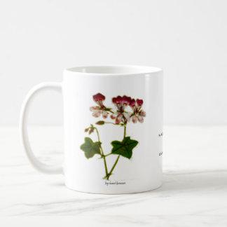 Ivy-leaved Geranium Coffee Mug