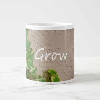 ivy on left word grow garden design neat nature extra large mug