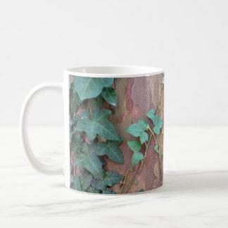 ivy on tree coffee mug