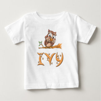 Ivy Owl Baby T-Shirt