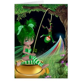"""Ivy"" St. Patrick's day Card"