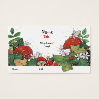 Ivy & Toadstool Illumination Business Card