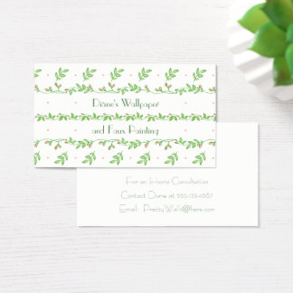 Ivy Vines and Buds Business Cards