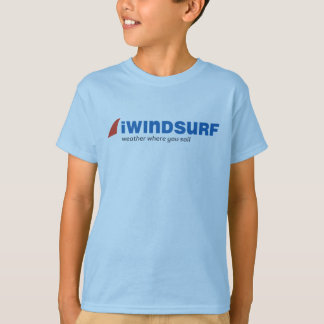 iW Kid's Blue T-Shirt