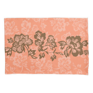 Iwalani Vintage Hawaiian Floral Band Reversible Pillowcase