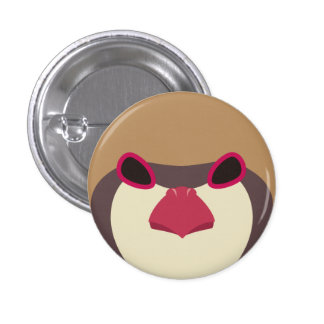 iwashiyako (normal) - Chukar (normal) 1 Inch Round Button