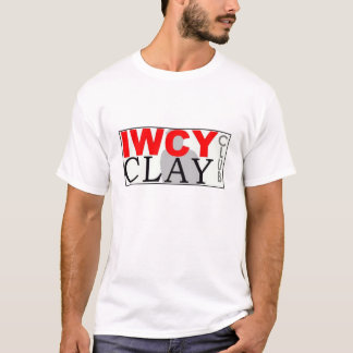IWCY CLAY CLUB_Large Logo_BORDER_Lower T-Shirt