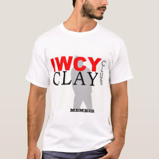 IWCY CLAY CLUB_Large Logo_MEMBER T-Shirt