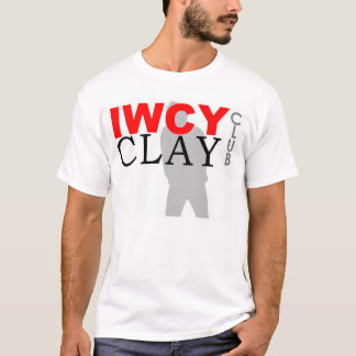 IWCY CLAY CLUB_Large Logo_NO MEMBER T-Shirt