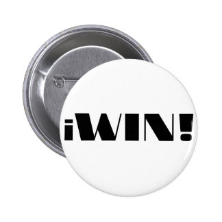 iWin! 2 Inch Round Button
