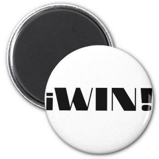 iWin! Fridge Magnet