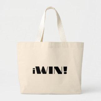 iWin! Jumbo Tote Bag