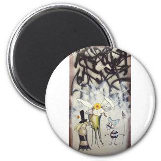 iwlltakeyou_rabbit1 2 inch round magnet