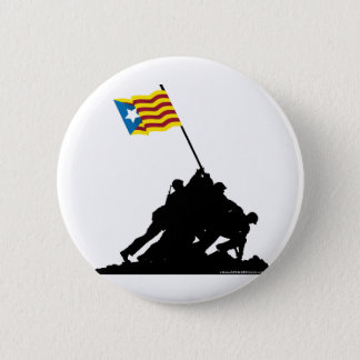 Iwo Jima Catalonia Independent 2 Inch Round Button