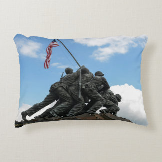 Iwo Jima Memorial in Washington DC Accent Pillow